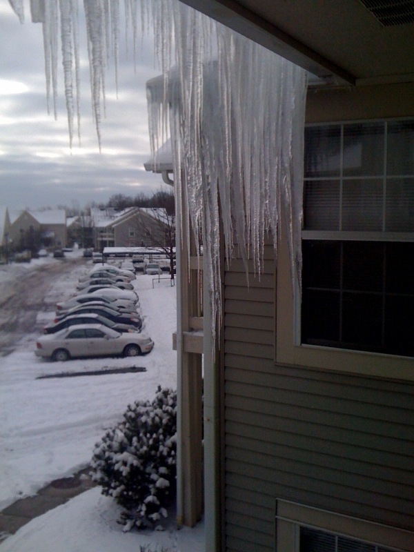 Awesome icicles