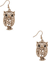 Forever-21-earrings-filigree-owl-earrings