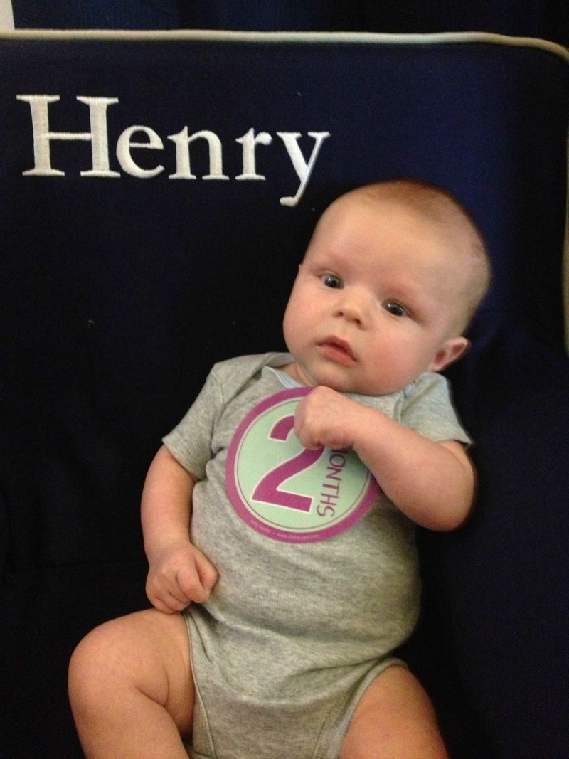 Henry at 2 months 2