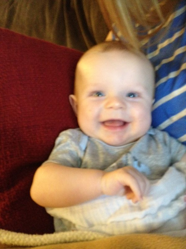 Henry smiling