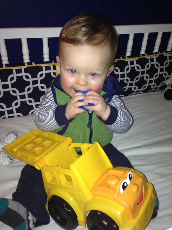 henry and his dump truck